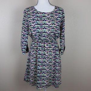 Everly Printed Summer Dress Size Medium